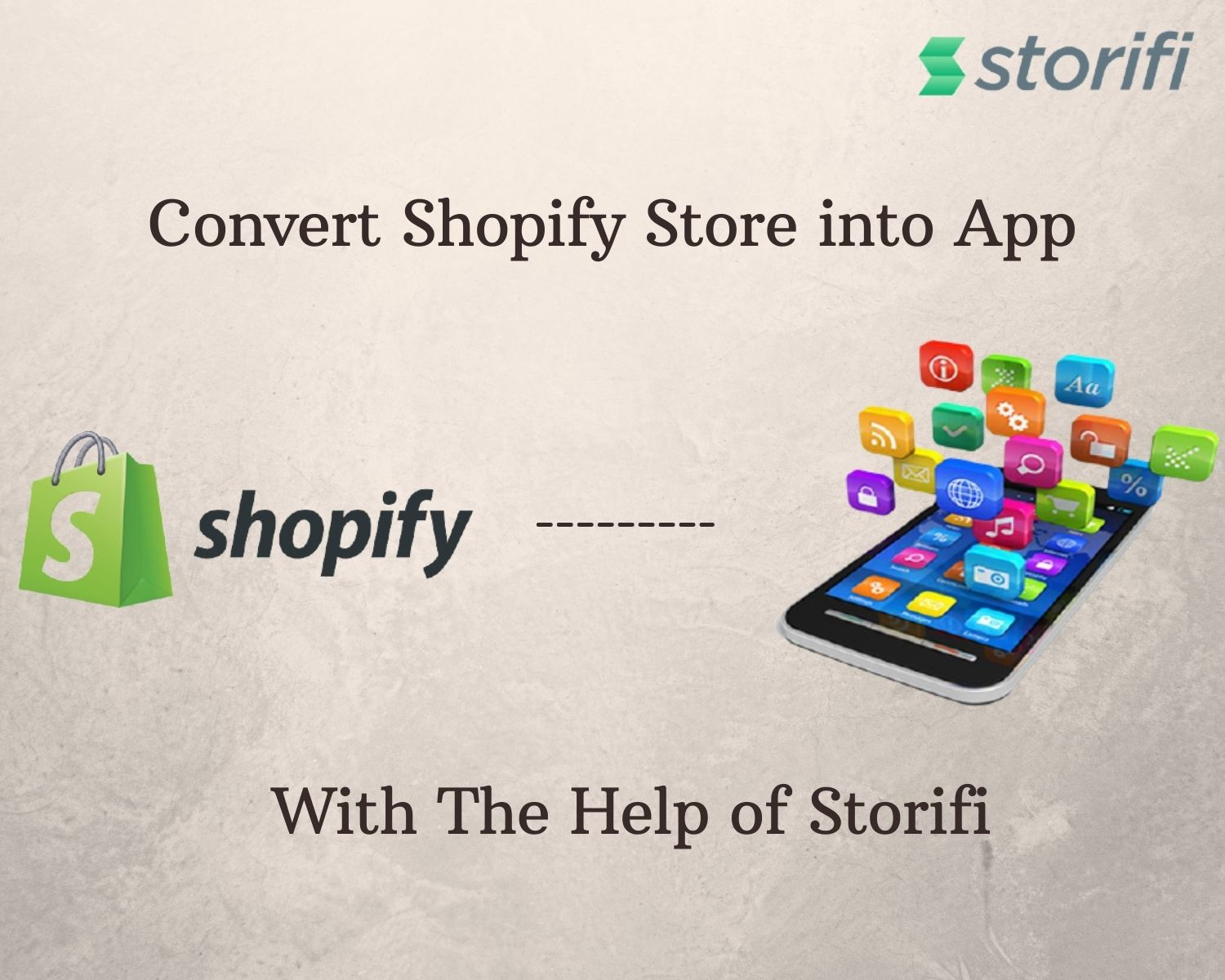 Convert Shopify Store into App